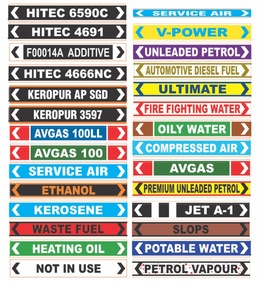 Pipeline Stickers/Decals – Hamilton Qld