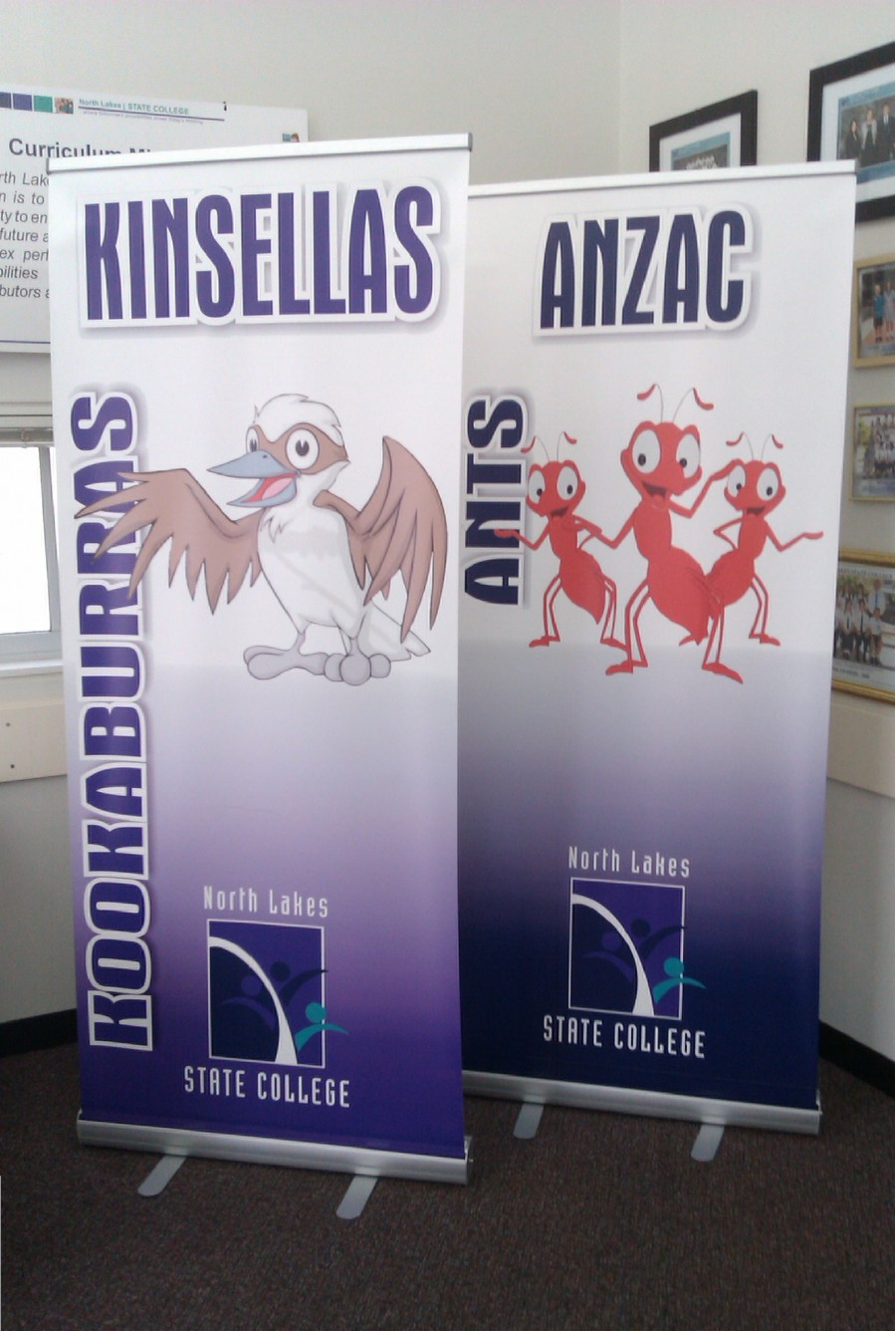 Pullup Banners – Northlakes – Brisbane