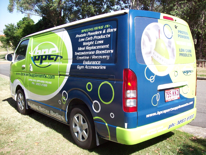 Vehicle Wraps Half Wraps North Brisbane Linehouse