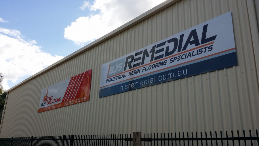 Warehouse Signage – Virginia Queensland