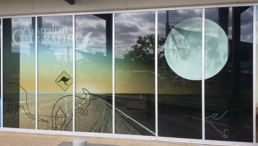 Shopfront Windows – North Lakes – North Brisbane