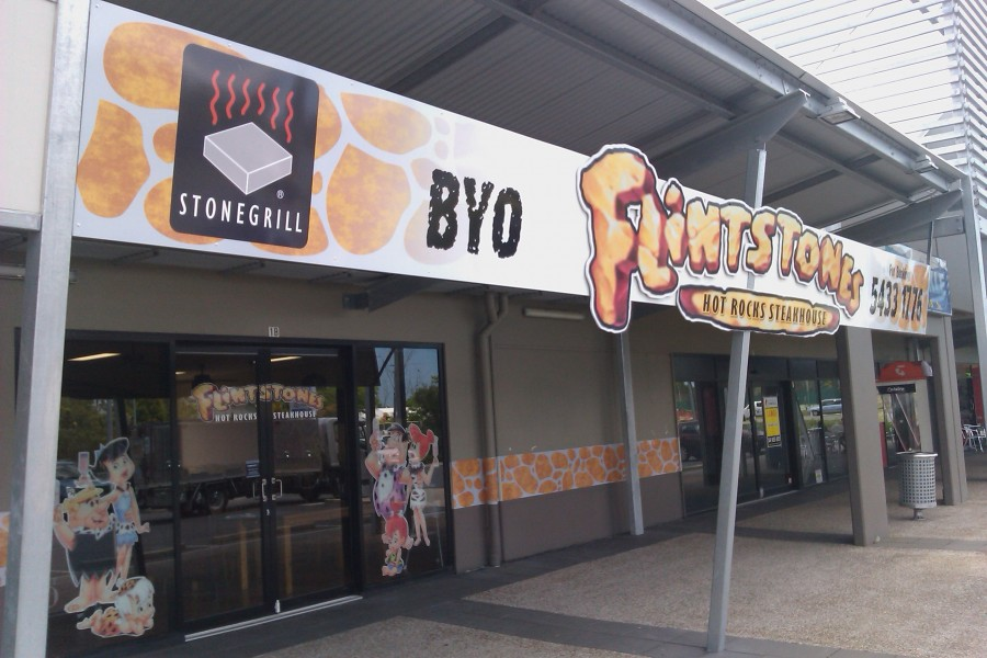 Traditional Brushwork signage – Caboolture – Queensland