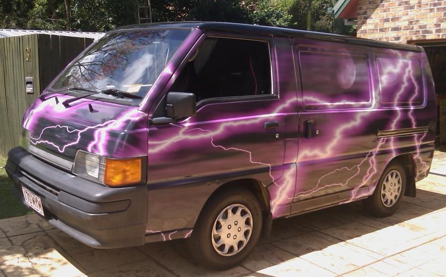 Lightning Vehicle Wrap Caloundra Sunshine Coast