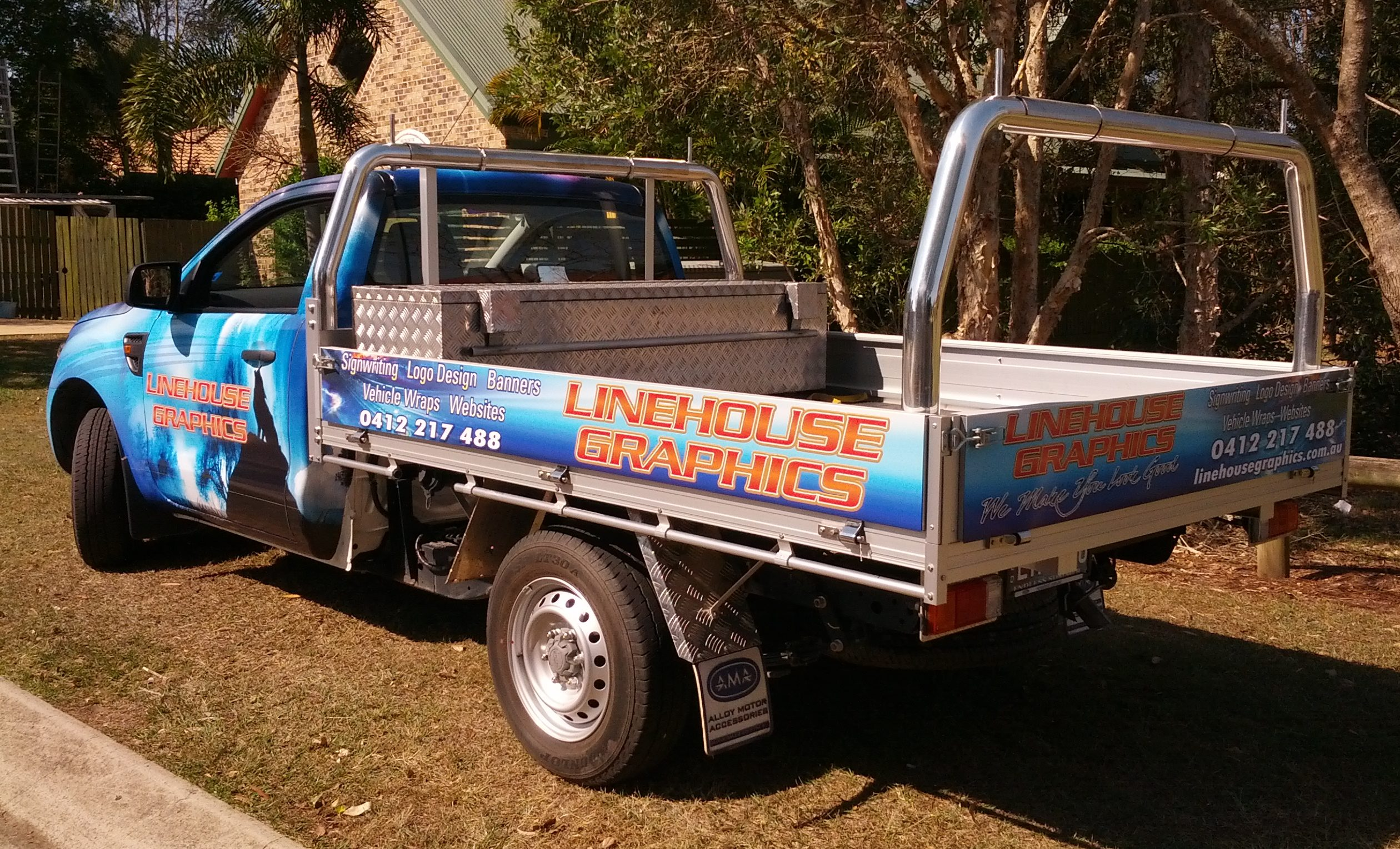 Traffic Australia Half Vehicle Wraps Albion Brisbane