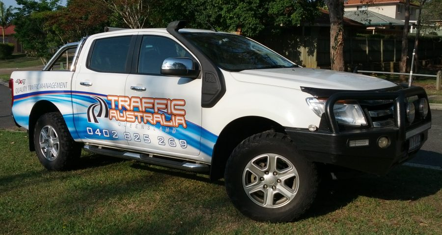 Traffic Australia – Half Vehicle Wraps – Albion – Brisbane