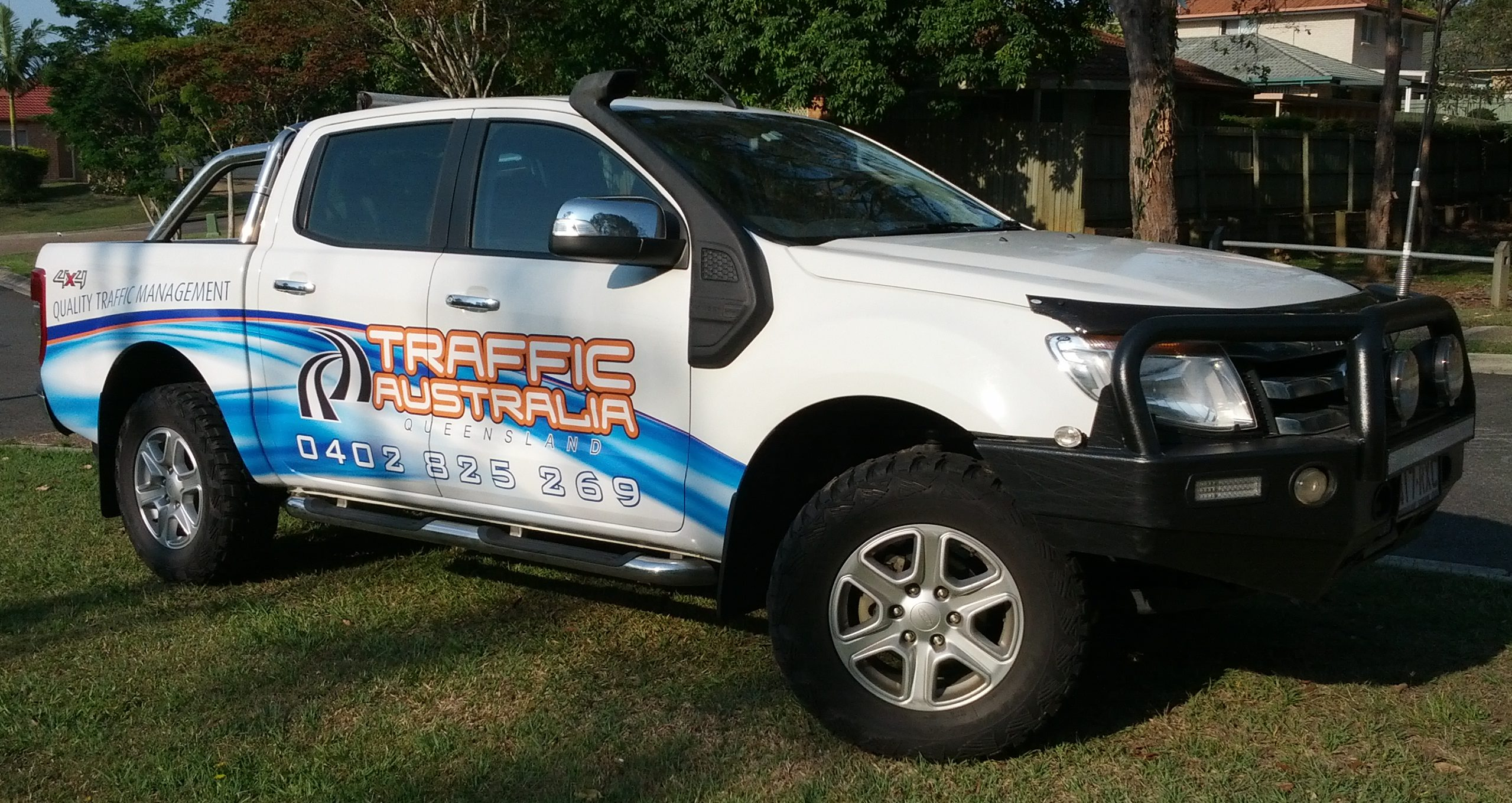 Traffic Australia Half Vehicle Wraps Albion Brisbane