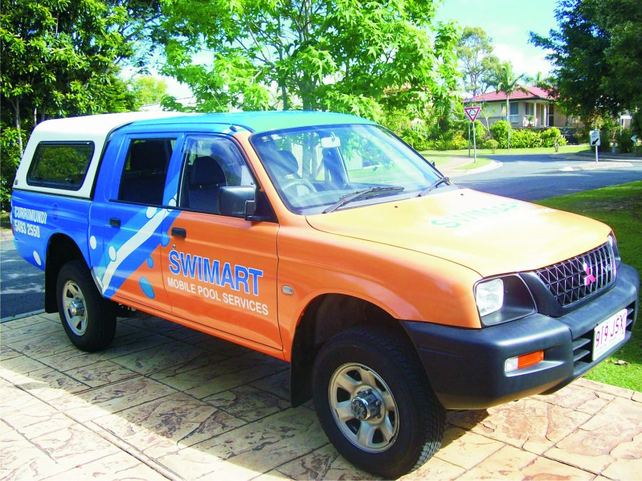 Swimart – Currimundi – Vehicle Wrap