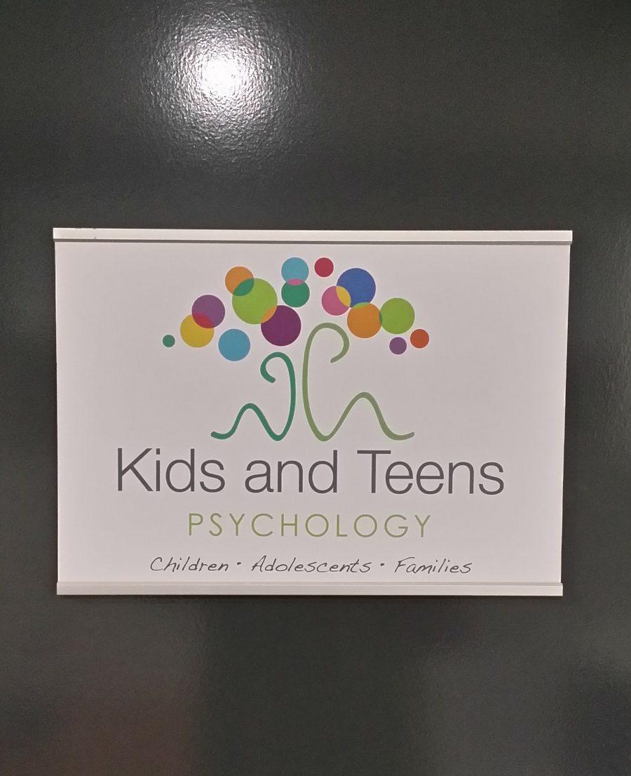 Office Door Slider Signs – Sippy Downs – Sunshine Coast – Queensland