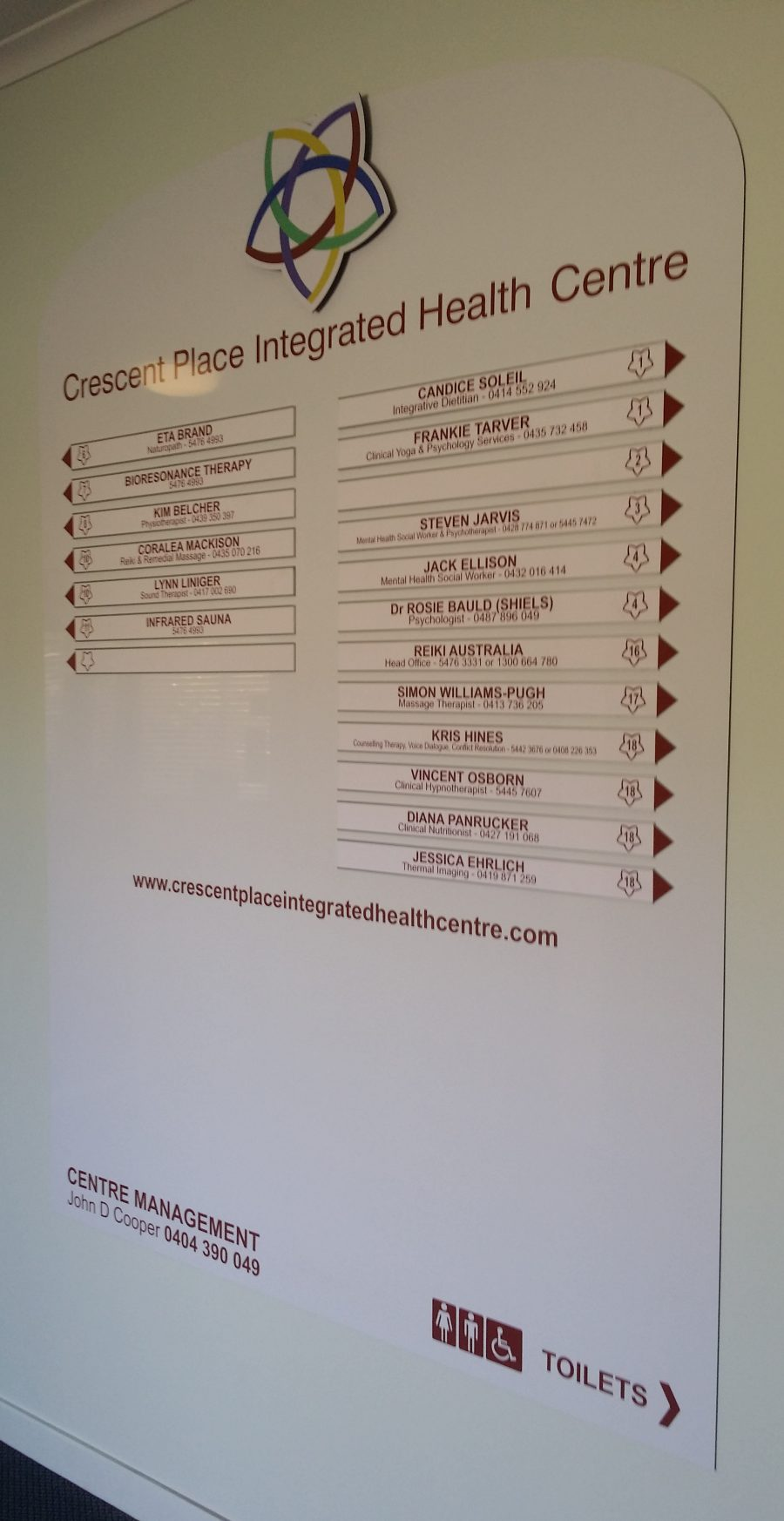 Directory Boards – Nambour – Sunshine Coast – Qld