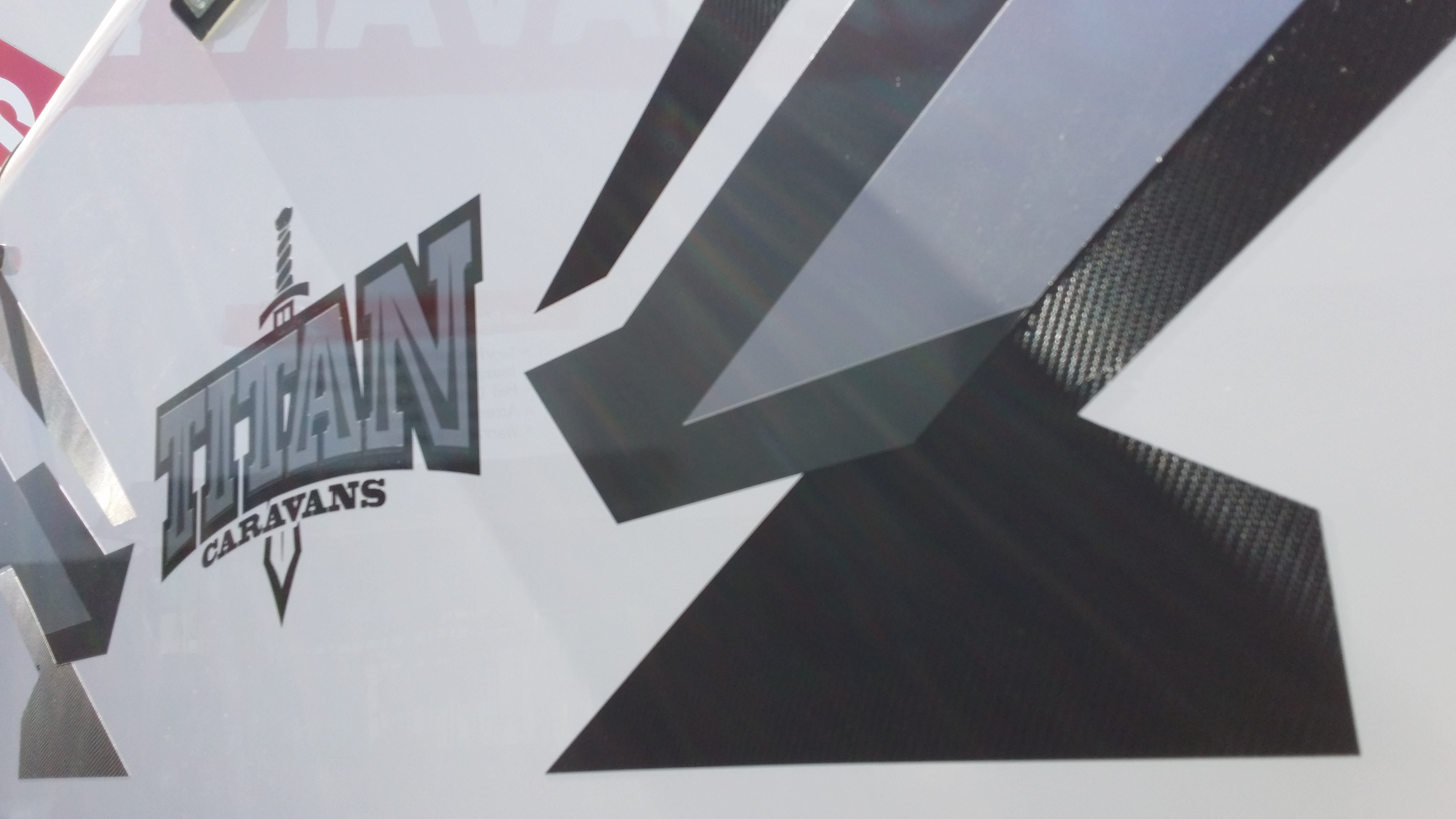 Caravan Graphics Kallangur Brisbane Linehouse Graphics