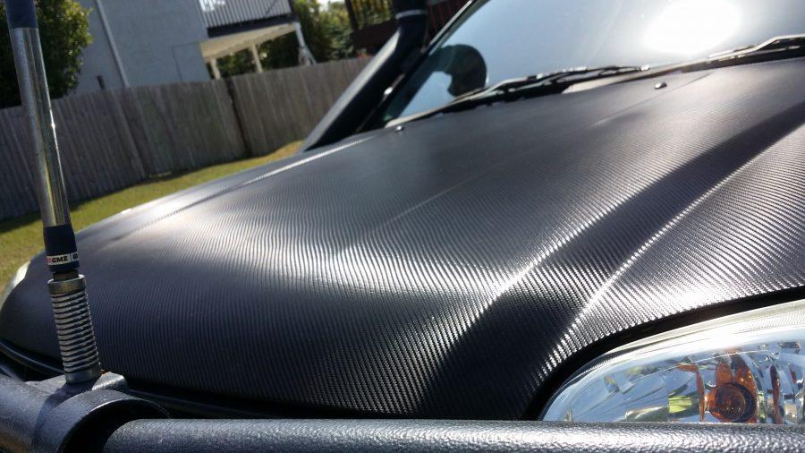 Carbon Fibre Bonnet Wraps – Redcliffe North Brisbane
