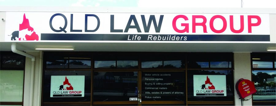 Shop Front Signs – Burpengary/Morayfield/Caboolture