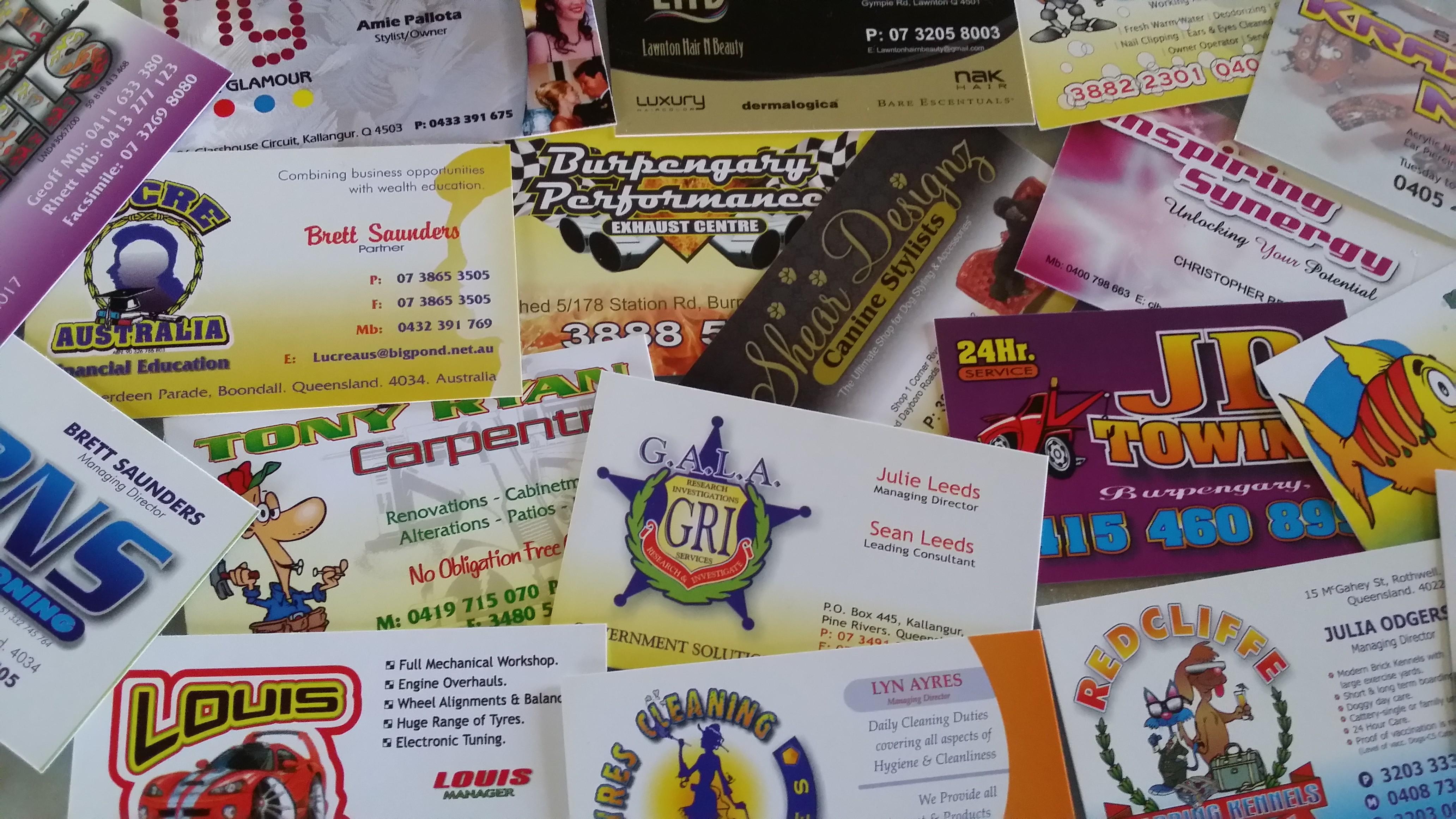 Business Cards – Brisbane, Sunshine Coast. Qld | Linehouse ...