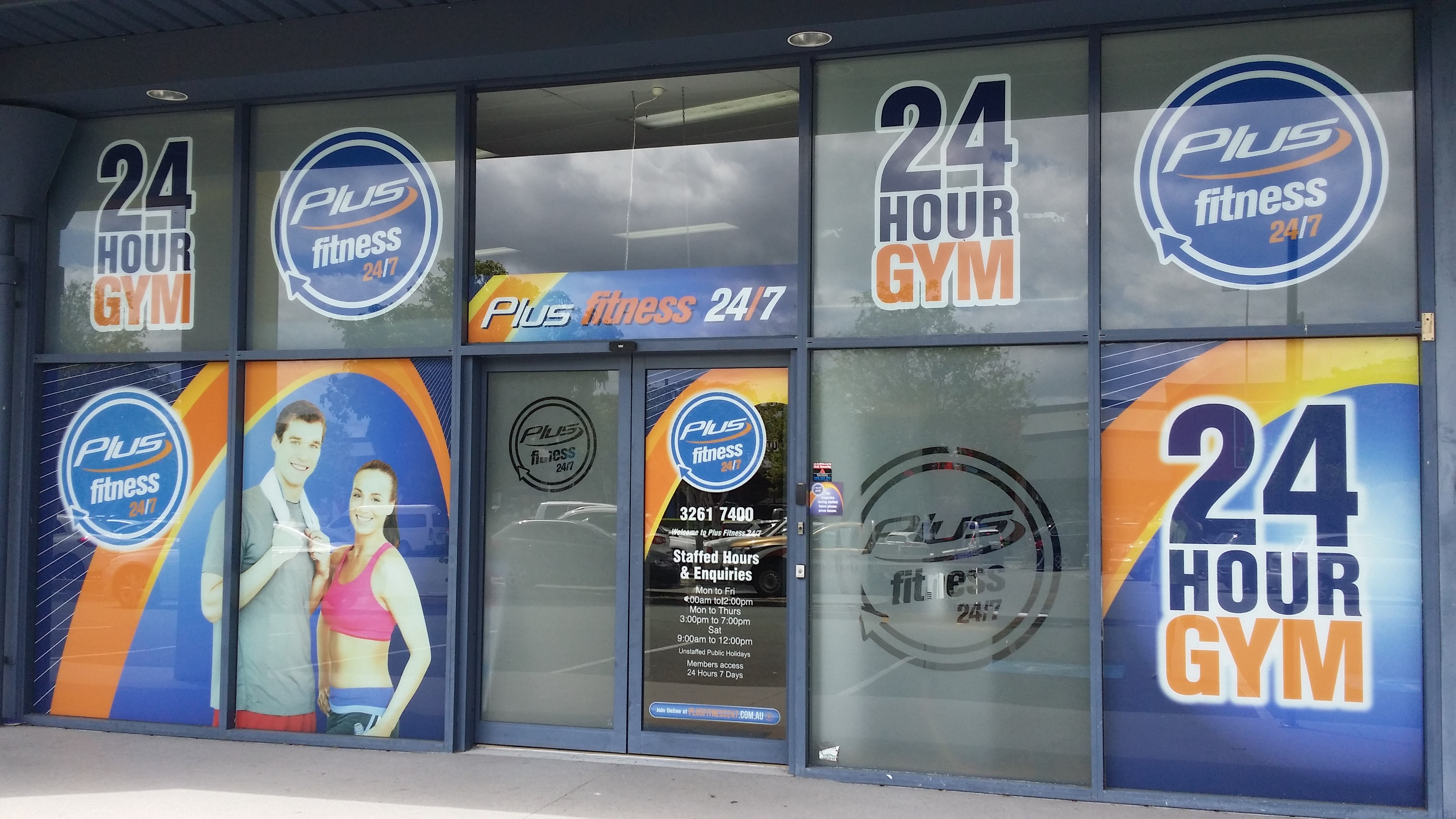 Shopfront Windows Graphics North Brisbane Carseldine