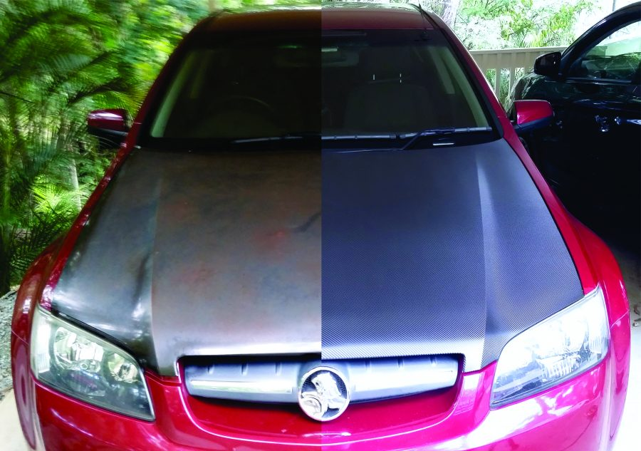 Carbon Fibre Bonnet Wraps – Mt. Samford – Qld