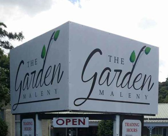 panel and post signage – maleny/sunshine coast hinterland