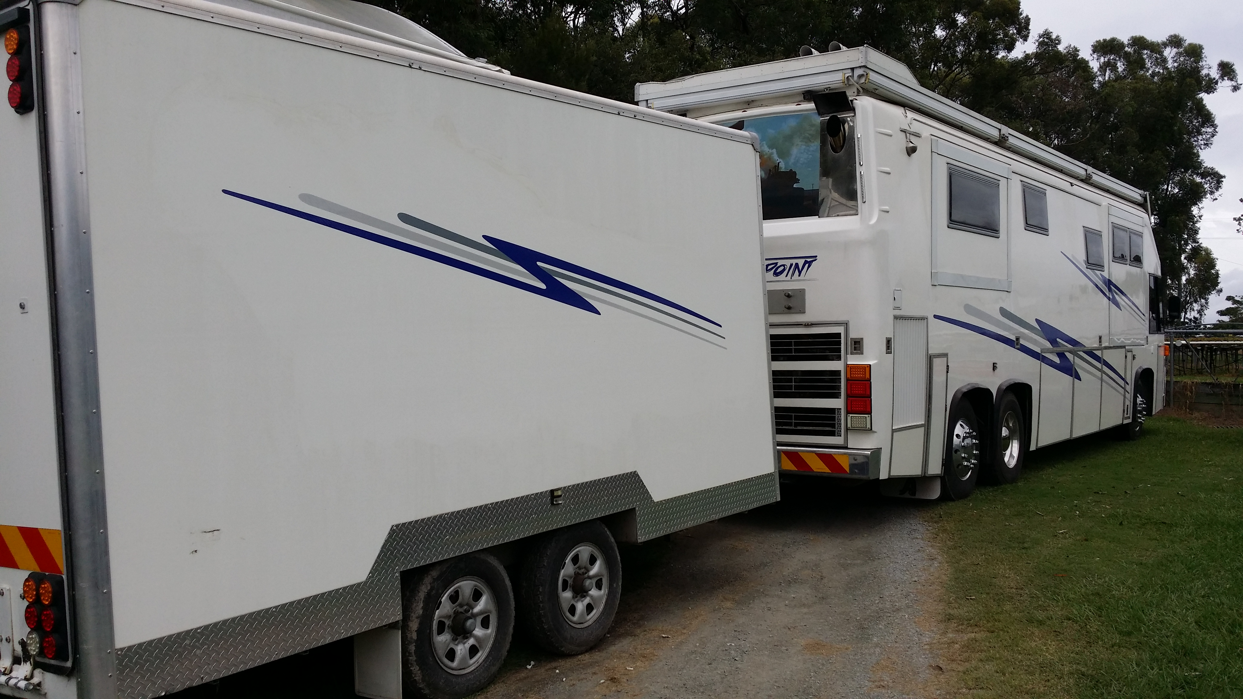 Bus Graphics Motorhomes Rv Stripes Caboolture Qld