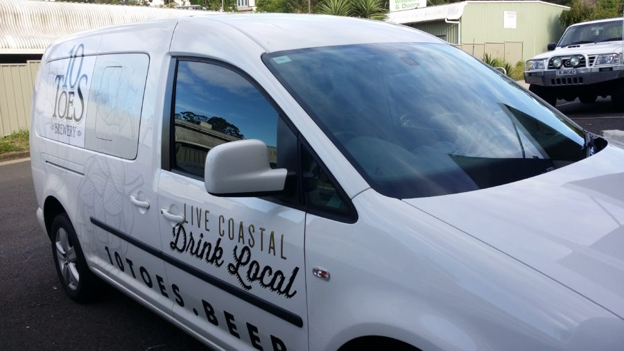 Car Vehicle wraps –  Alexandra Headlands – sunshine coast qld