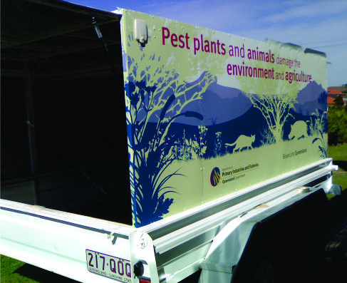 Trailer Graphics and signs – north brisbane