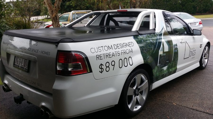 Half Vehicle Wraps – mudjimba sunshine coast qld