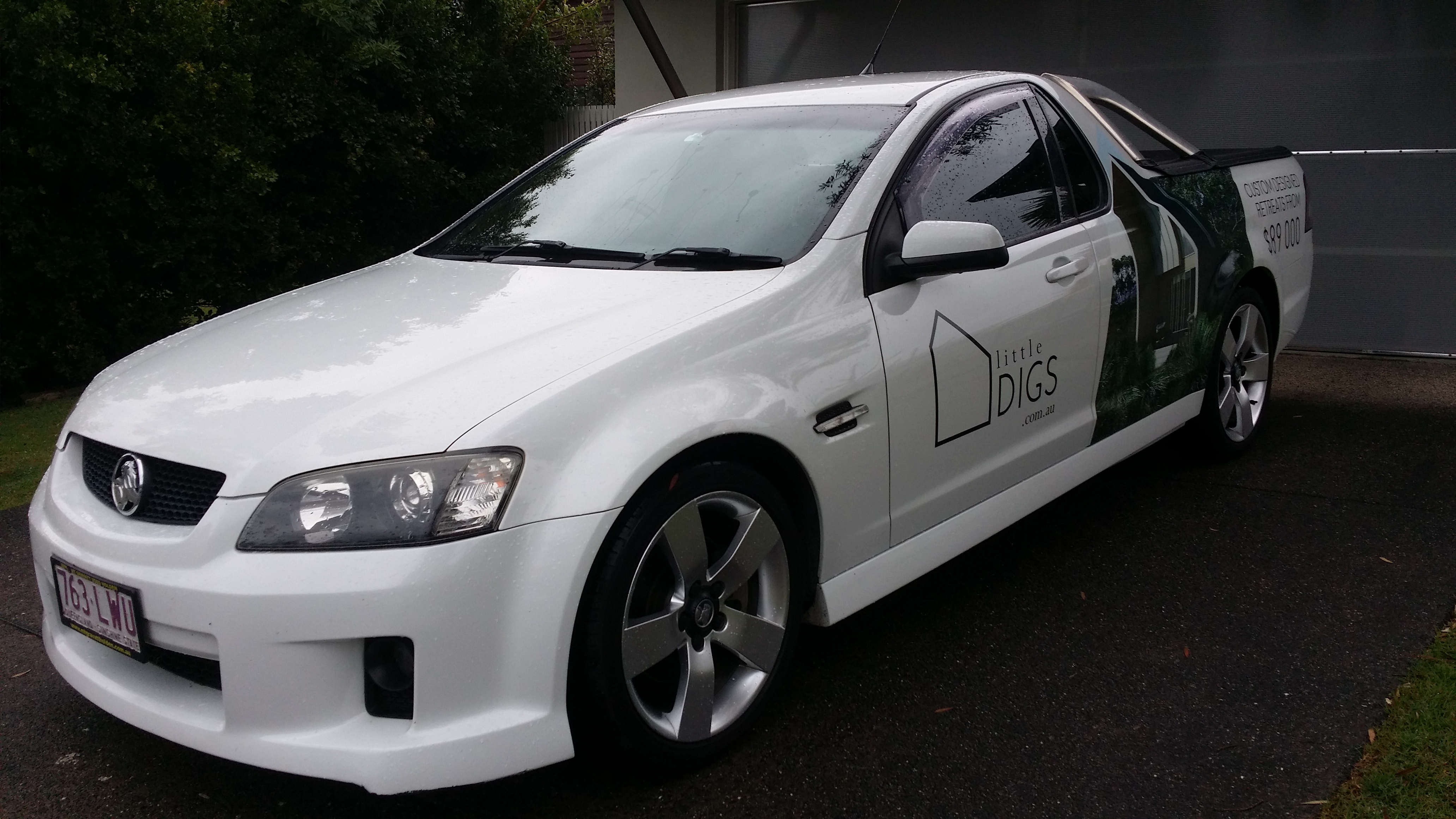 Car Wrap Cost >> Half Vehicle Wraps – mudjimba sunshine coast qld   Linehouse Graphics