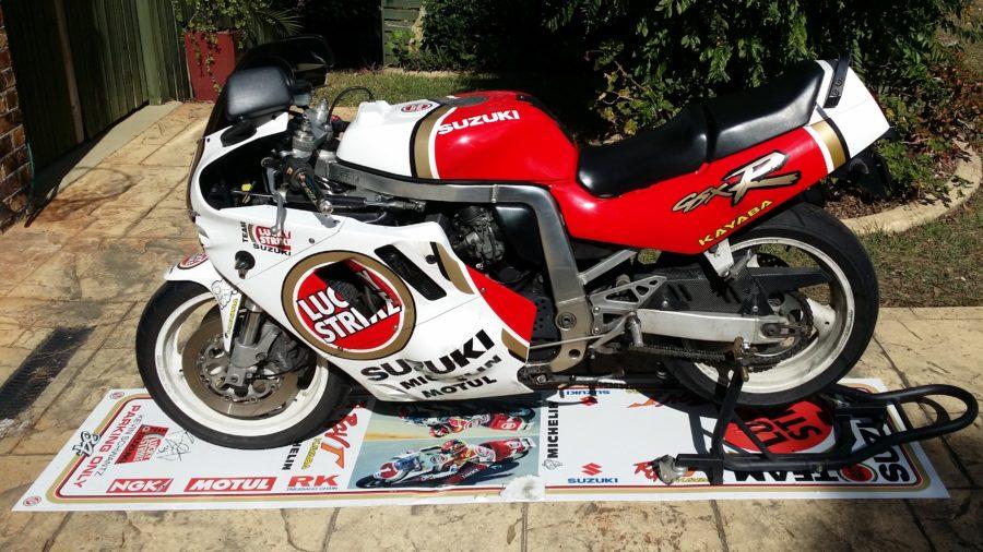 Motorcycle Parking Panels – South East Queensland. Australia.