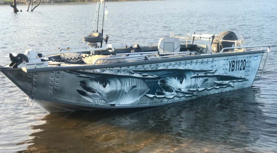 Sunshine Coast and Brisbane boat wraps