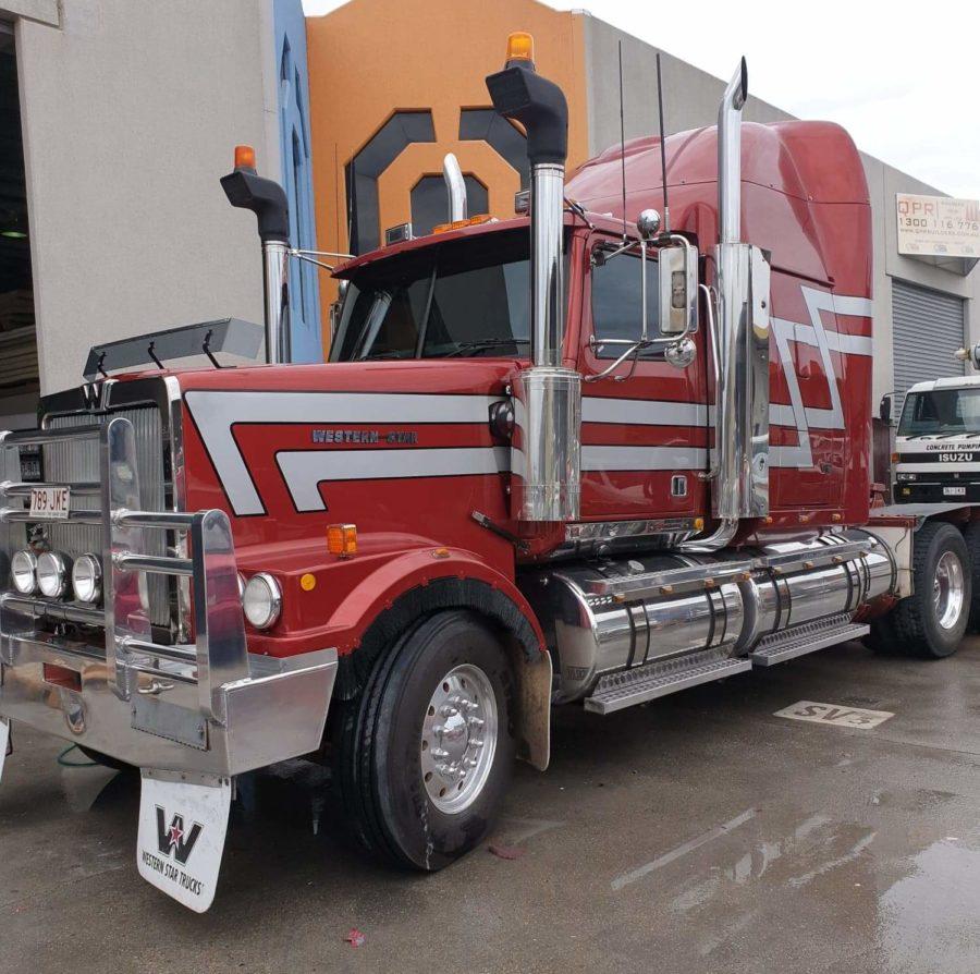 Truck Pin-striping and Stripes – North Brisbane/Sunshine Coast