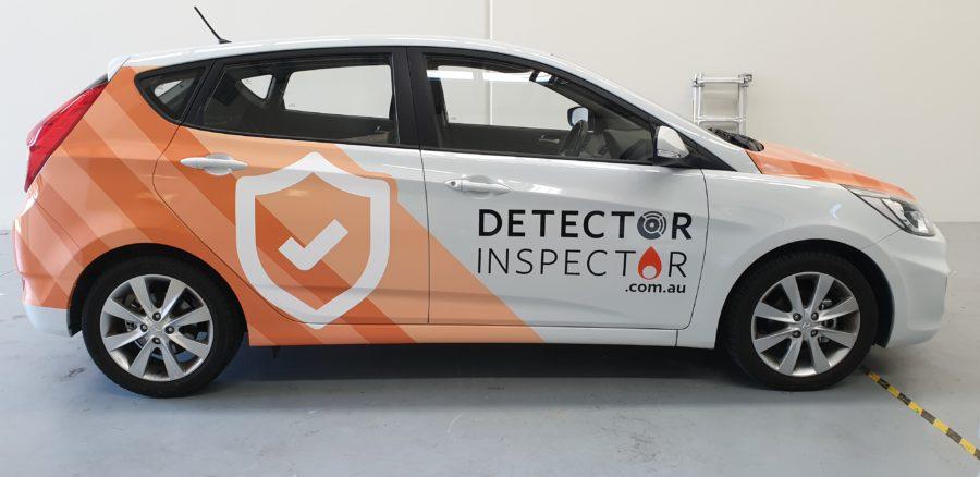 Car Half Wraps – Hamilton Brisbane – Detector Inspector