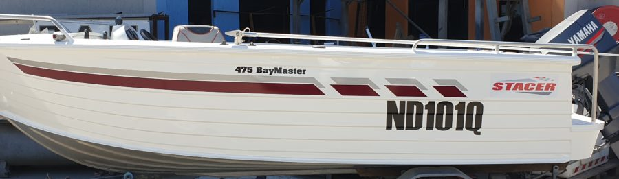 Boat Rego/Lettering/Stripes – Brisbane and the Sunshine Coast