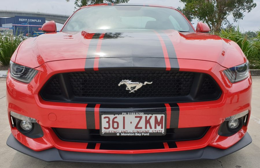 Mustang GT Racing Stripes – Wynnum Brisbane/Sunshine Coast