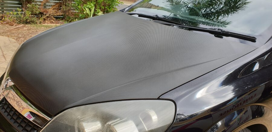Roof and bonnet car wraps – kallangur brisbane