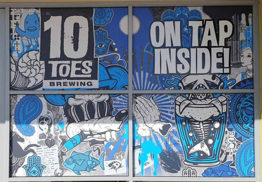 Shopfront Window Signs – Mudjimba and Maroochydore Sunshine Coast Qld