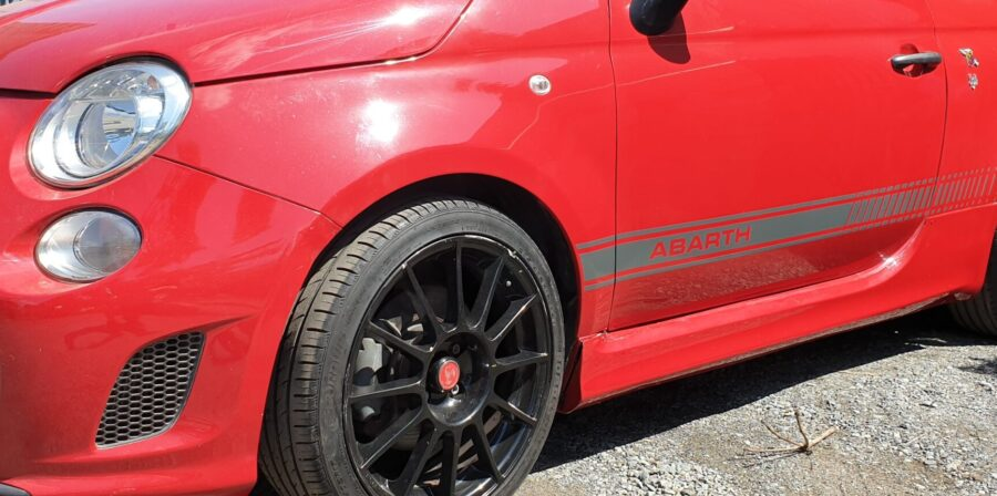 Fiat Abarth Racing Stripes – Brisbane and the Sunshine Coast.