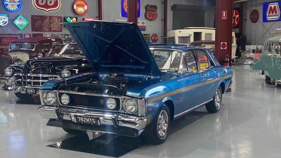 Ford Falcon XYGT Side Stripes – Kallangur North Brisbane Qld